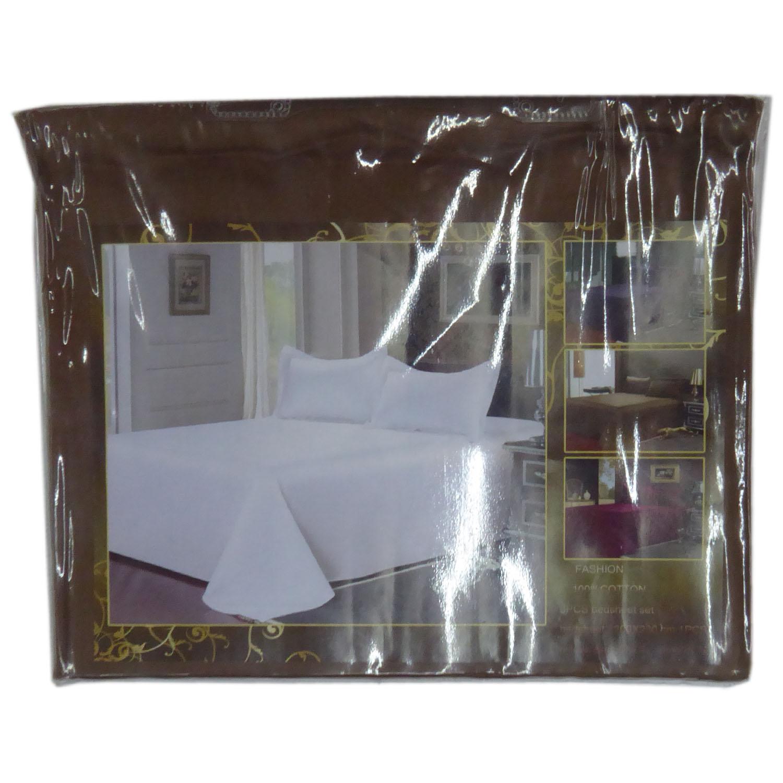 3 pc Double Bedsheet Set 200cm x 230cm
