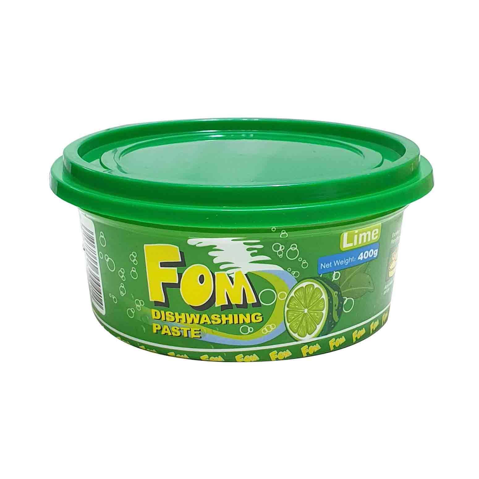 FOM Dishwashing Paste – Lime 400g