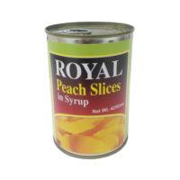 Royal Peach Slices 425g