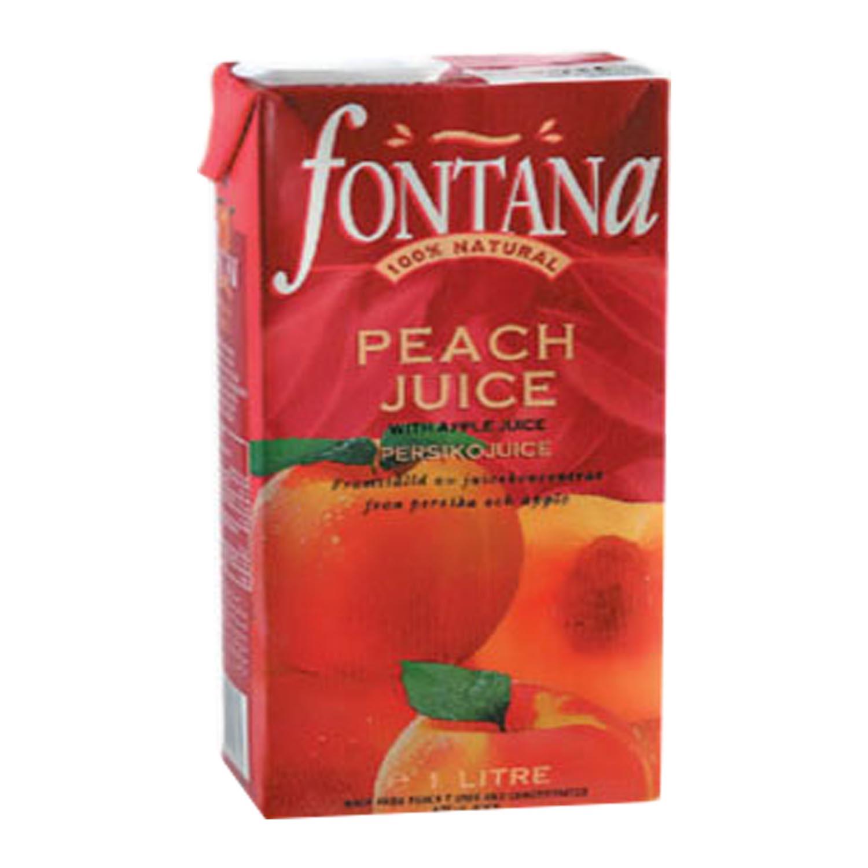 FONTANA 100% Natural Fruit Juice - Peach