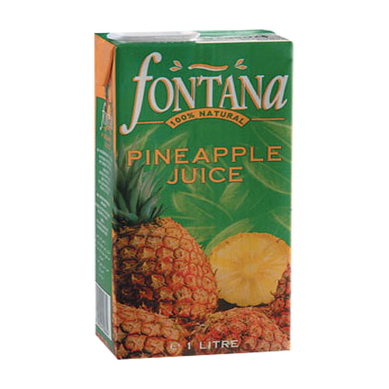 FONTANA 100% Natural Fruit Juice - Pineapple