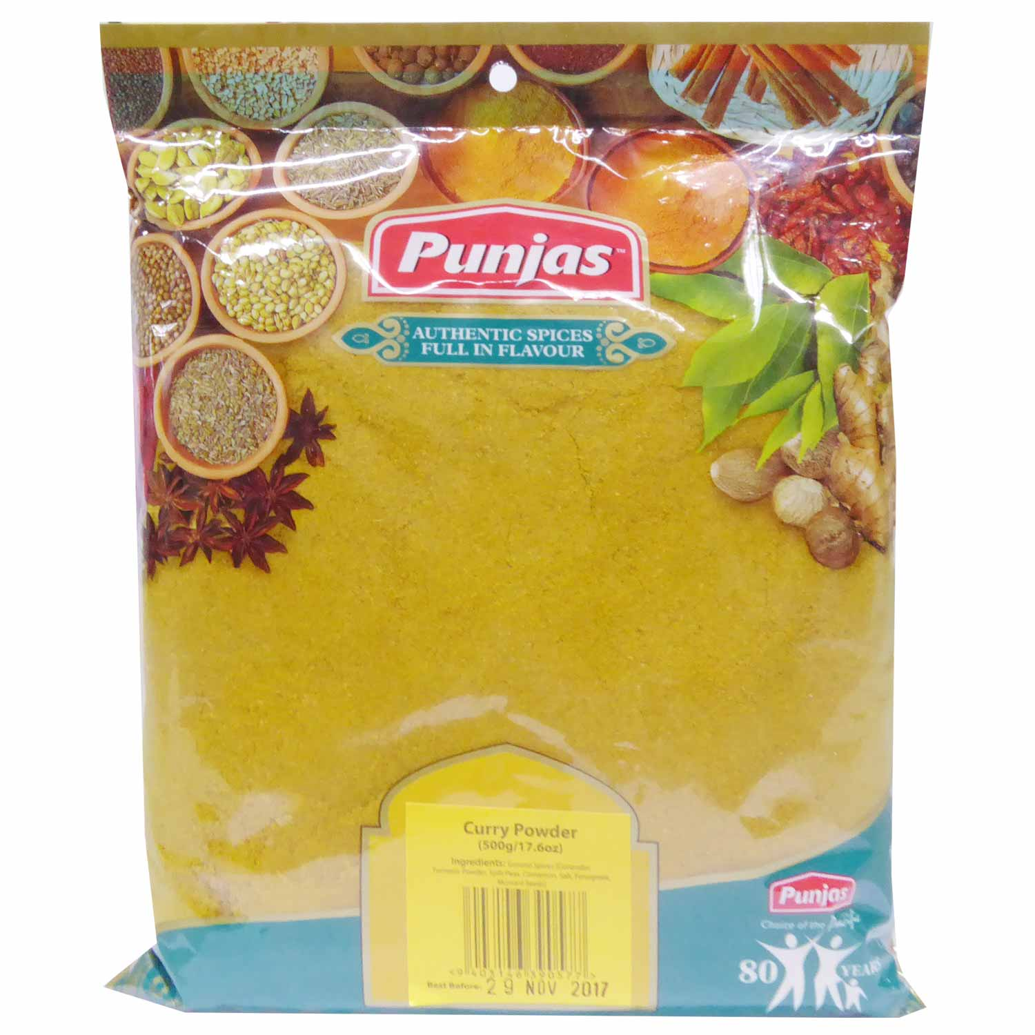 Punjas Curry Powder 500g