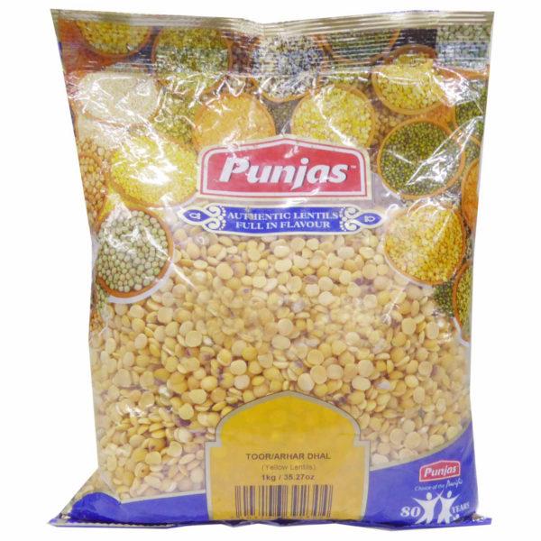 Punjas Toor/Arhar Dhal 1kg