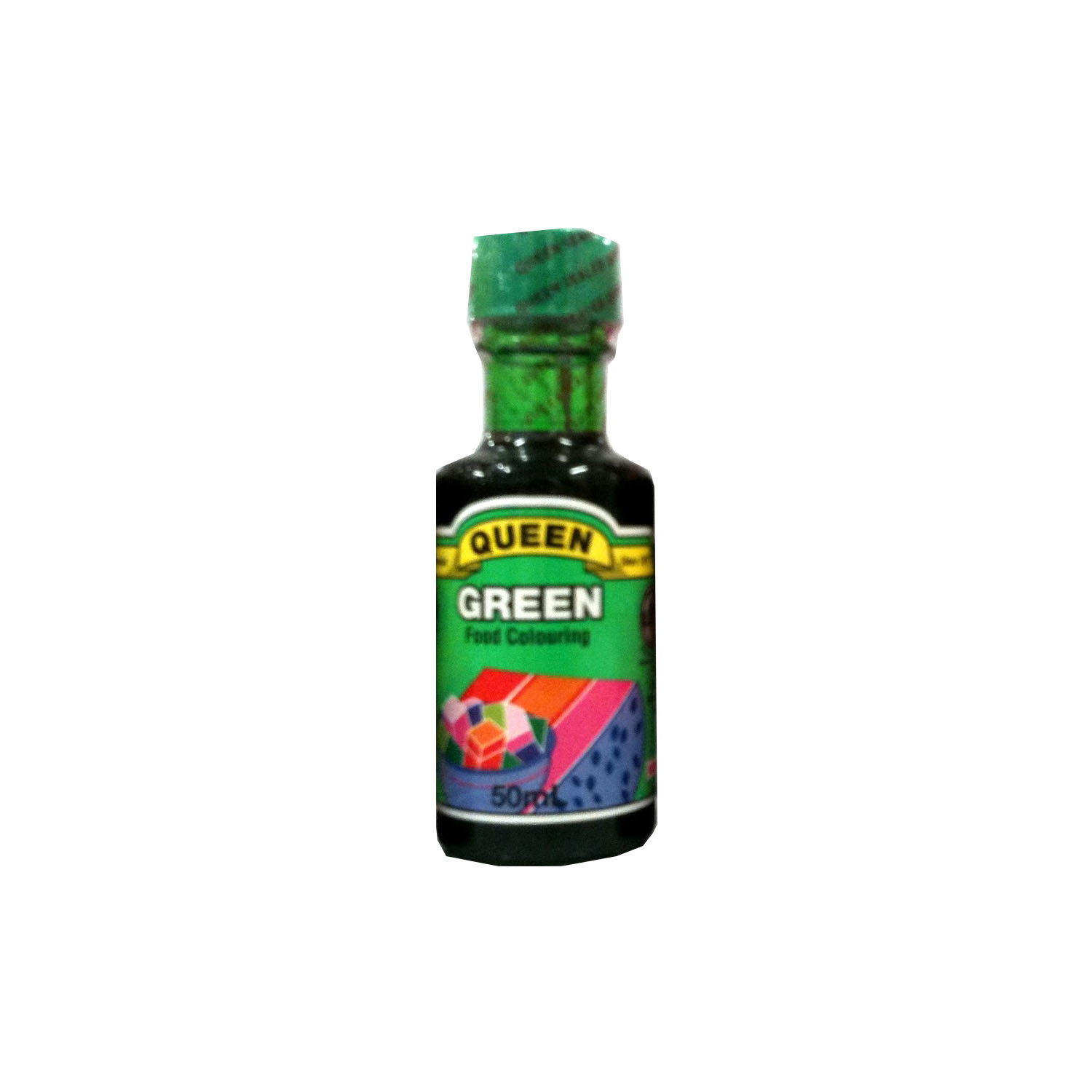 Queen Food Colour - Green 50ml
