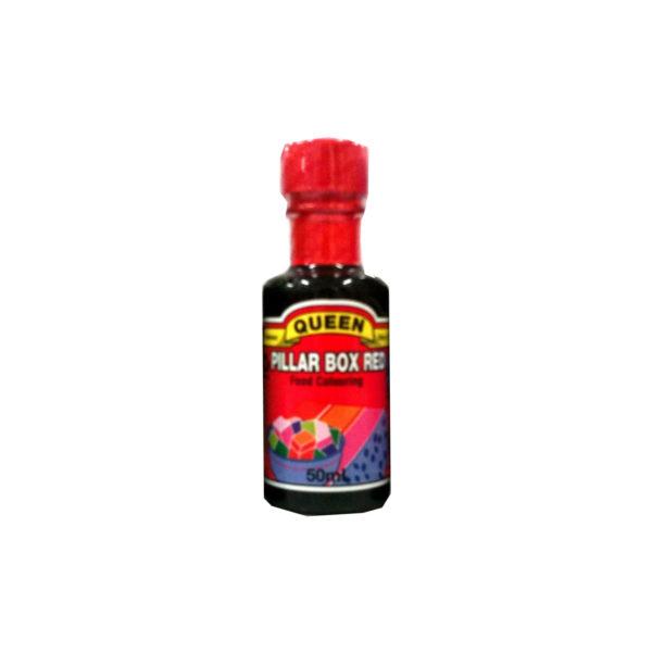 Queen Food Colouring - Pillar Box Red 50ml
