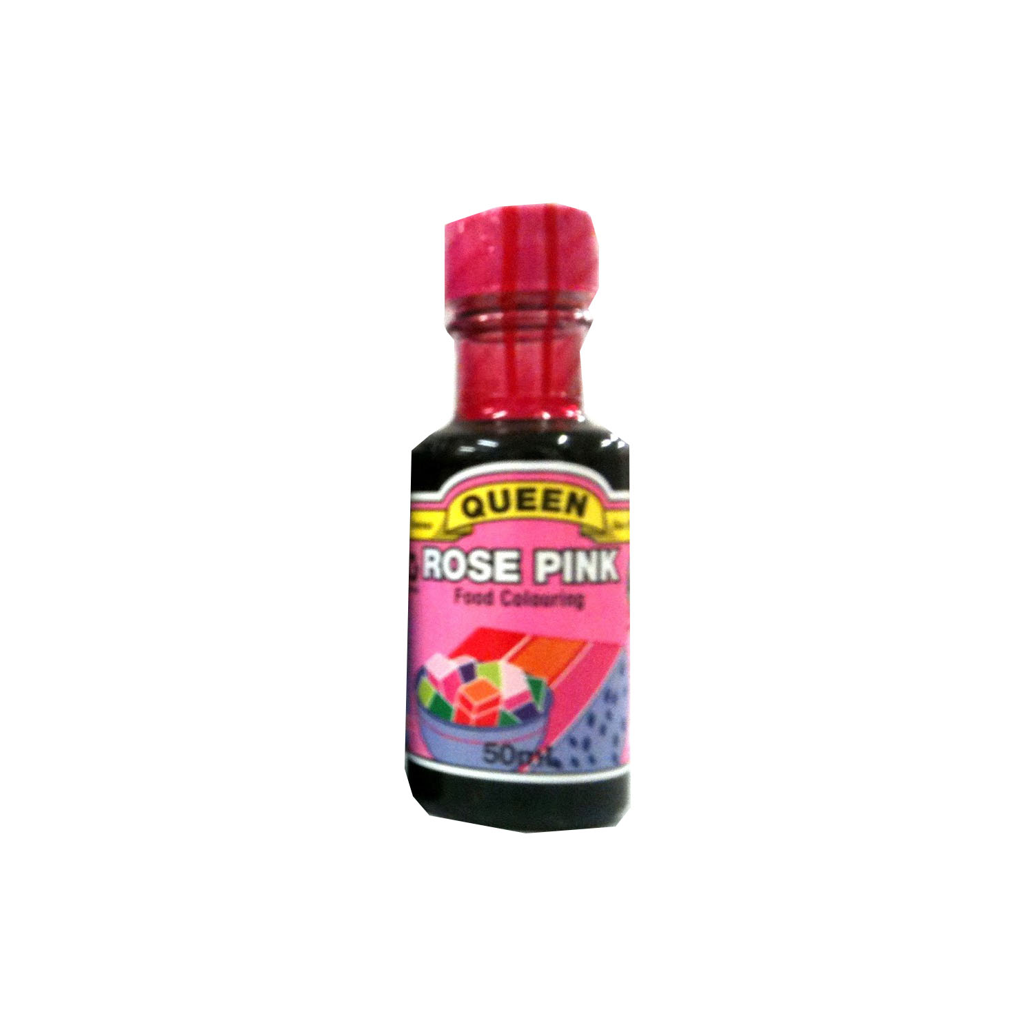Queen Food Colouring - Rose Pink