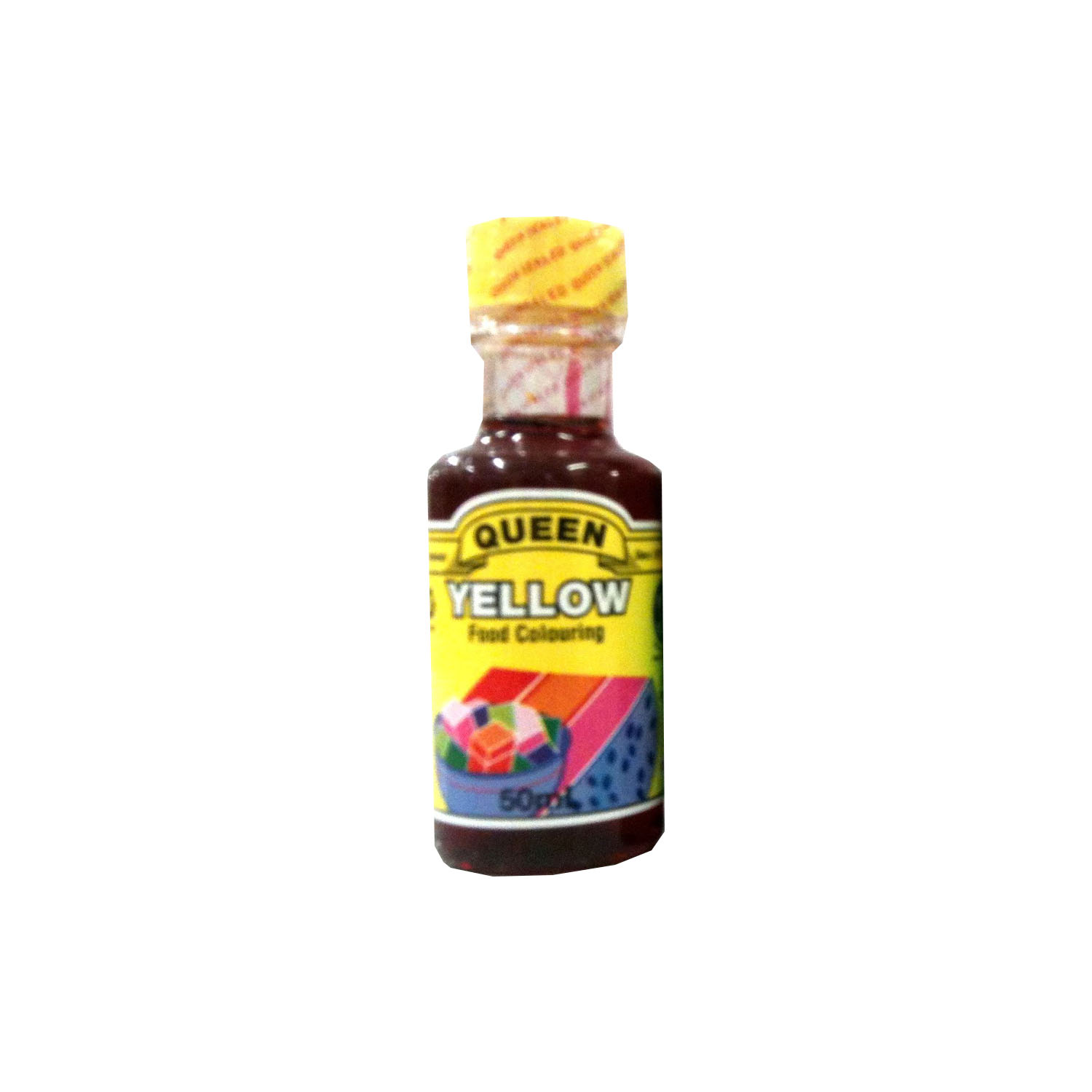 Queen Food Colouring - Yellow 50ml