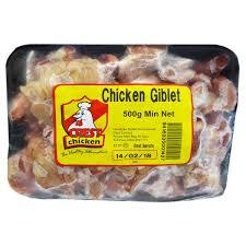 Crest Chicken Giblet 500g