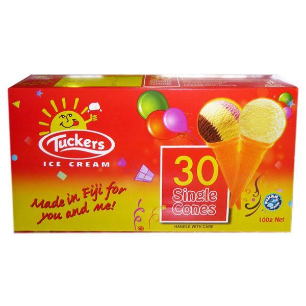 Tuckers Ice Cream Cones - Small - 30s