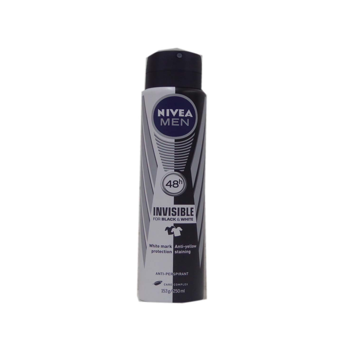 Nivea For Men Anti-Perspirant Spray Invisible Black & White 250ml
