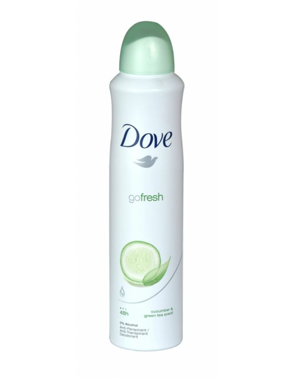Dove Anti-Perspirant Spray Cucumber & Green Tea 250ml