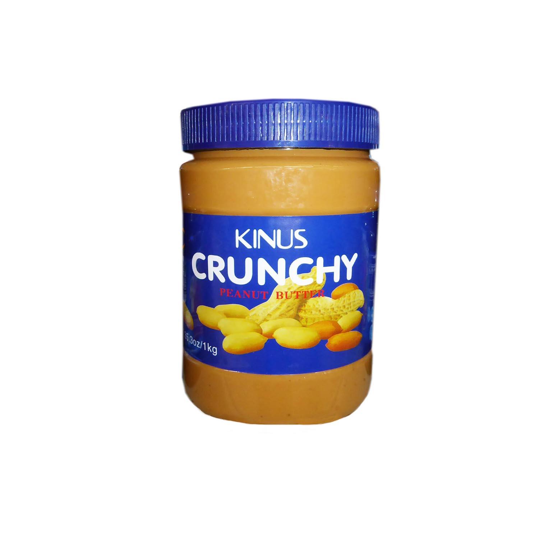 Kinus Peanut Butter – Crunchy 1kg