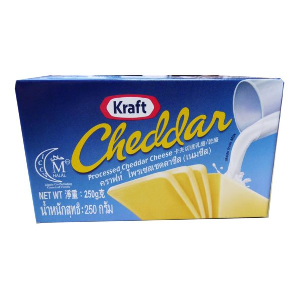 Kraft Cheddar Cheese - Block 250g