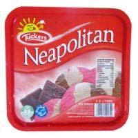 Tuckers Ice Cream - Neapolitan 4.5ltr