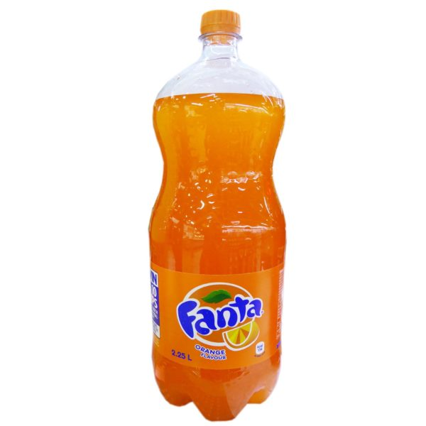 Fanta - Orange Flavour 2.25Ltr