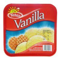 Tuckers Ice Cream - Vanilla 2 Ltrs