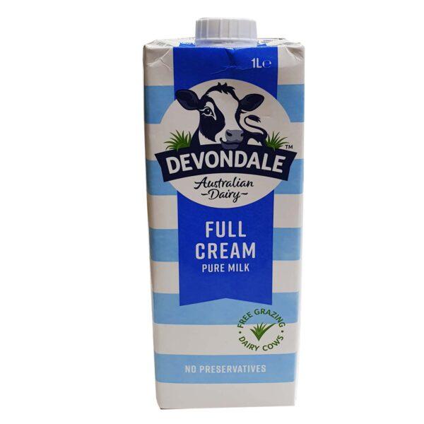 Devondale Milk – Full Cream 1Ltr
