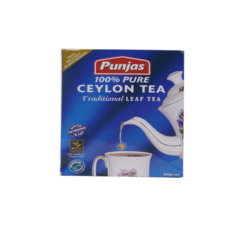 Punjas Ceylon Tea Leaf 500g
