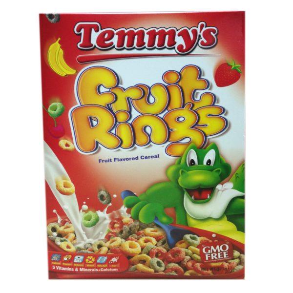 Temmy's Fruit Rings 375g