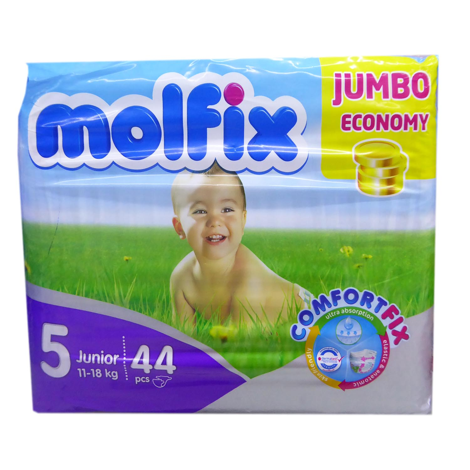 Molfix Junior Diaper Jumbo - 44 XLarge