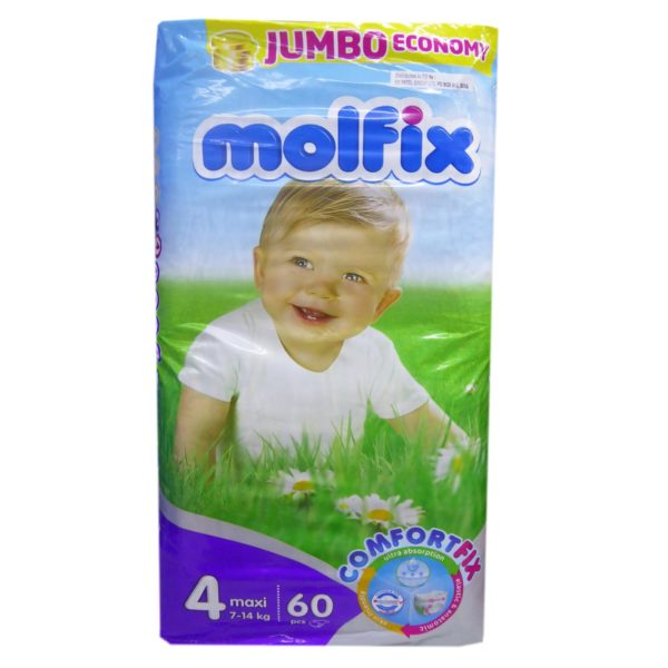 Molfix Maxi Diaper Jumbo - 60 Large