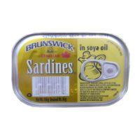 Brunswick Sardine in Soya Oil 106g
