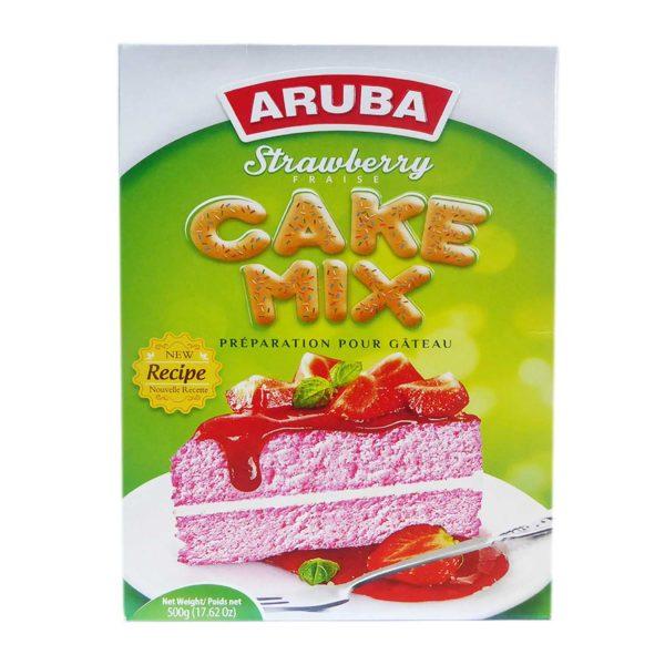 Aruba Cake Mix - Strawberry 500g