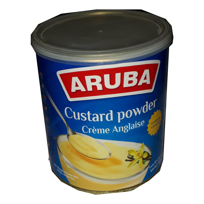 Aruba Custard Powder Tin - Vanilla Flavour 300g