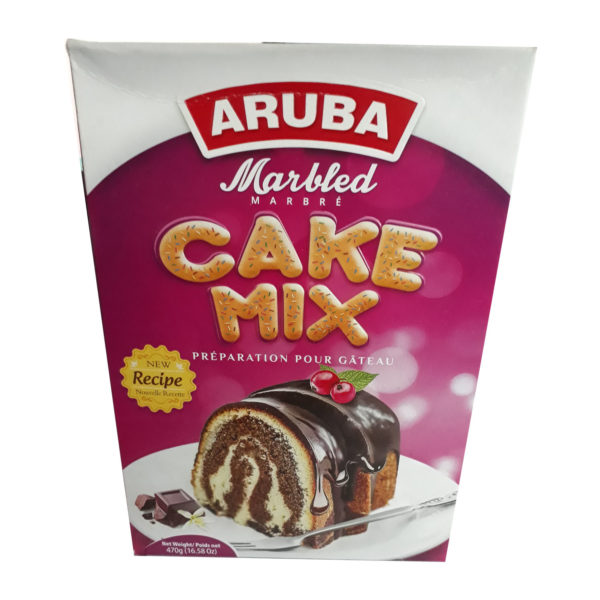 Aruba Cake Mix - Marbled 470g
