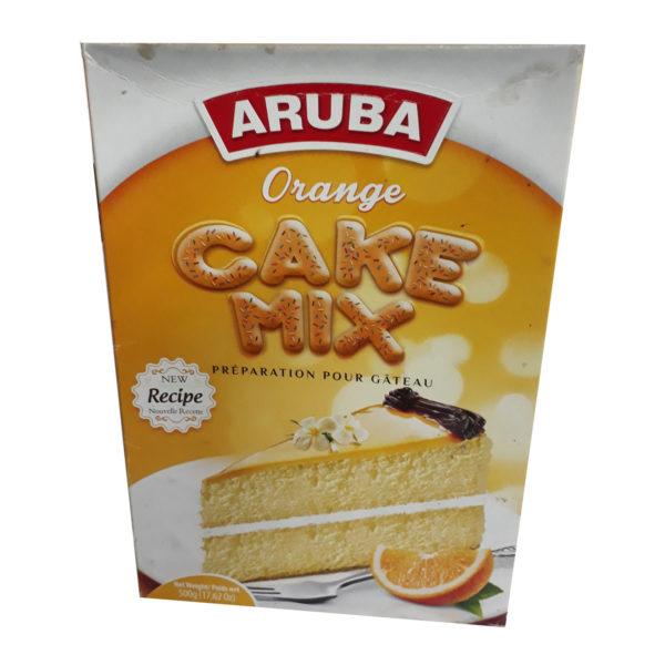 Aruba Cake Mix - Orange 500g
