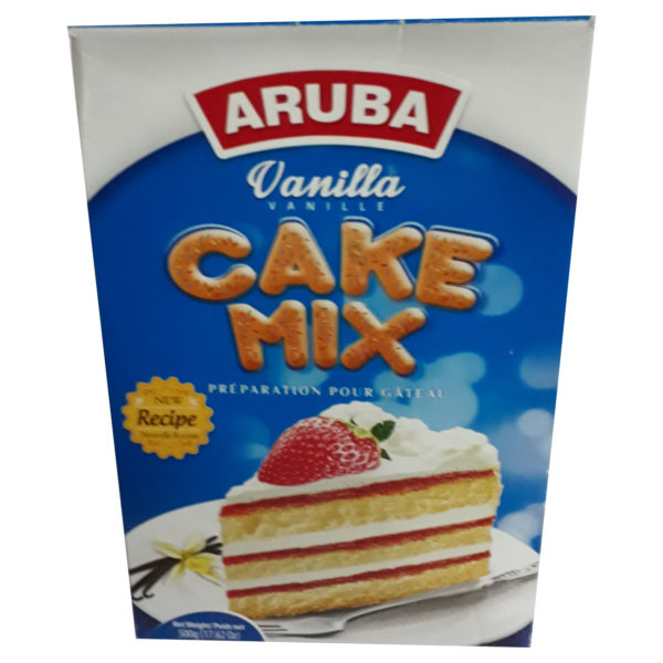Aruba Cake Mix - Vanilla 500g