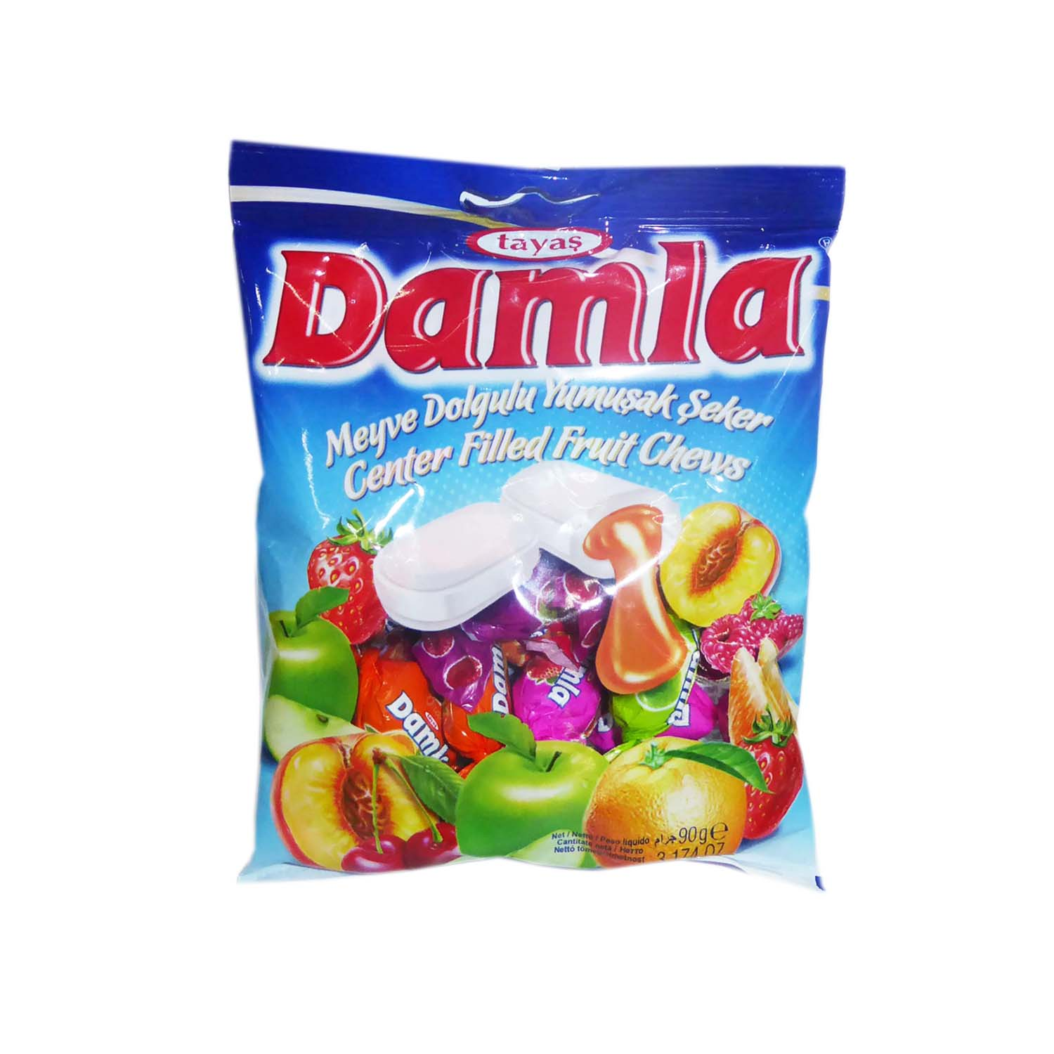 Damla Fruit Candy - Assorted 90g