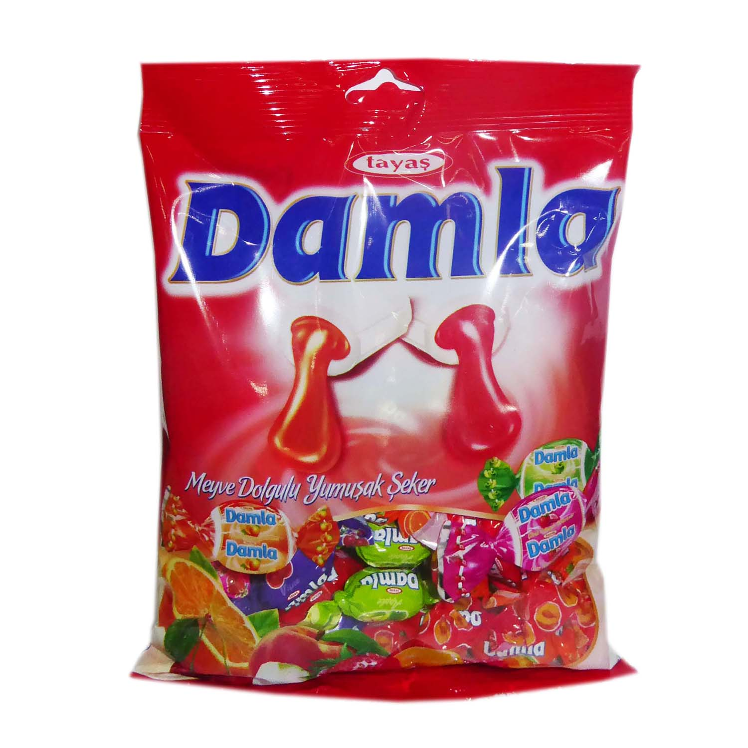 Damla Fruit Candy - Assorted 250g
