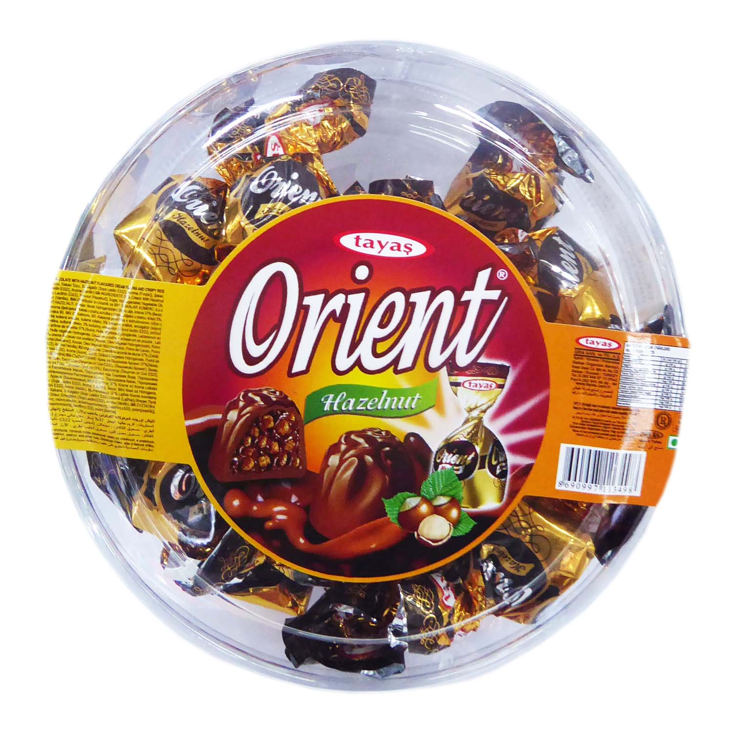 Orient Candy - Hazelnut Flavoured 250g