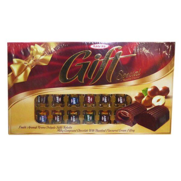Tayas Hazelnut Chocolate - Gift Pack 180g