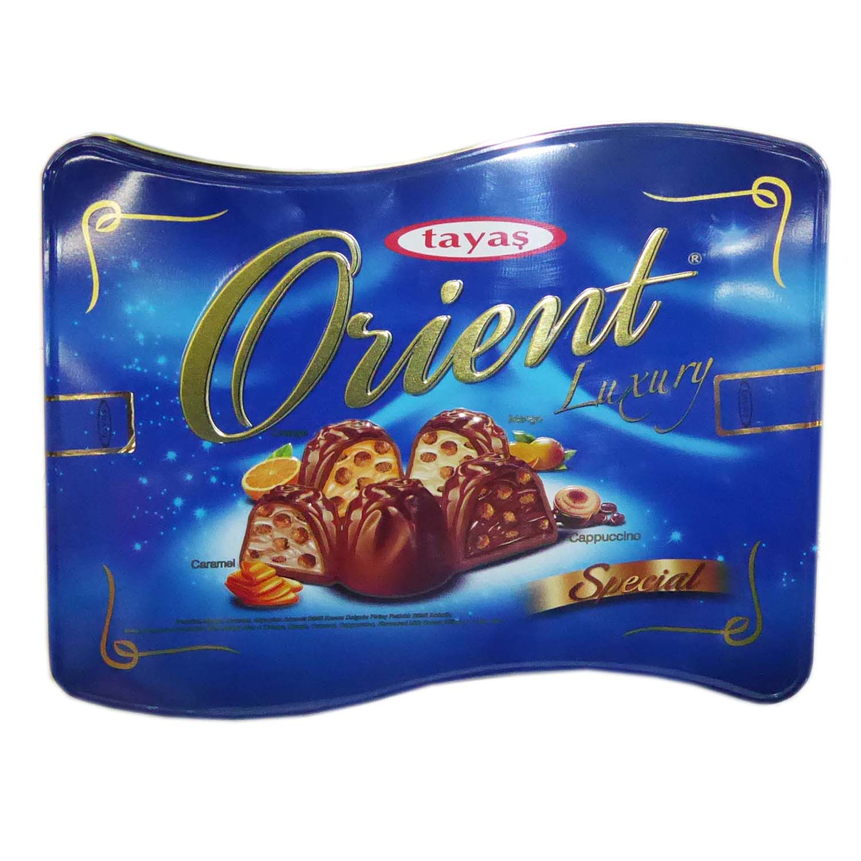 Orient Truffle - Mango/ Orange/ Cappuccino/ Caramel - Tin 600g