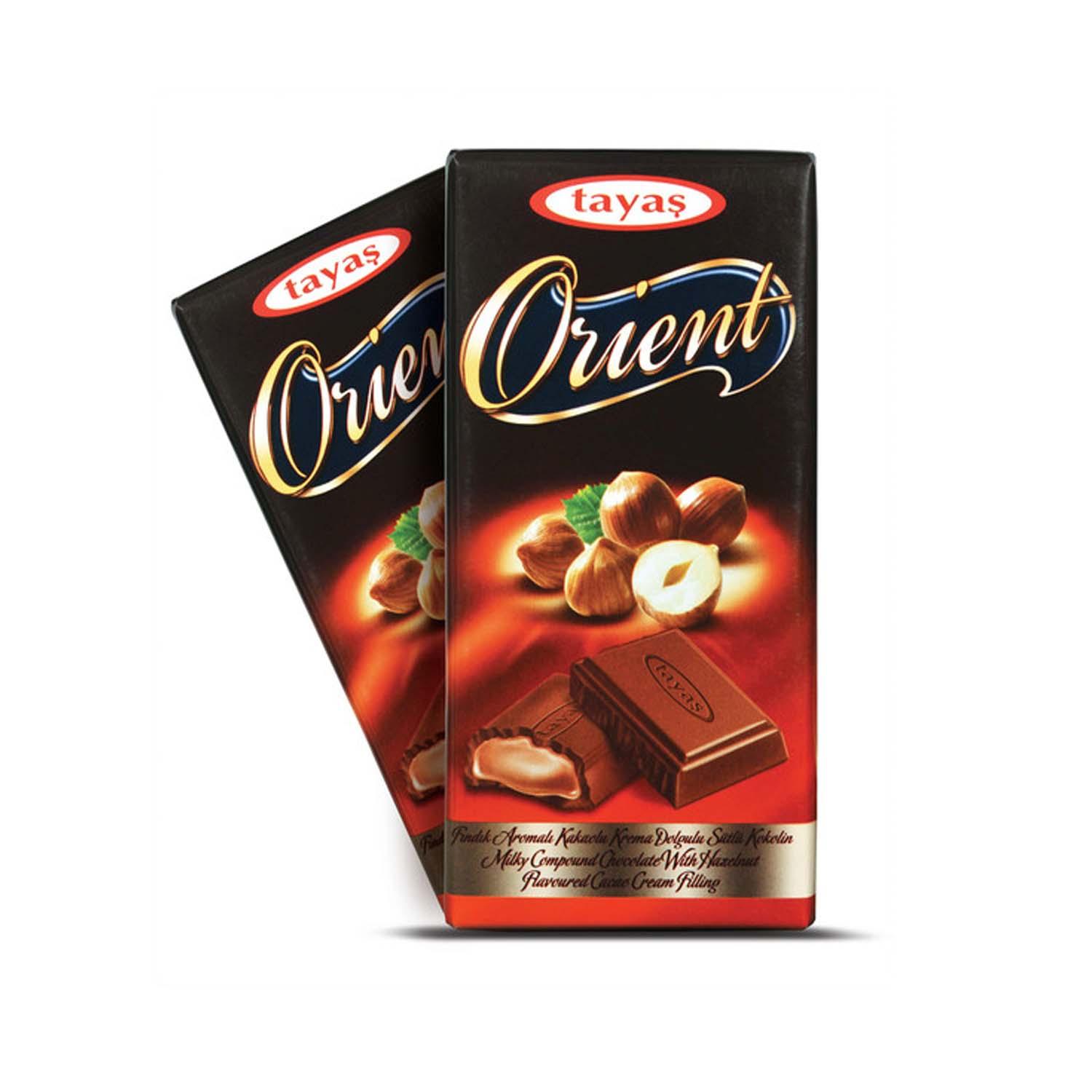 Orient Chocolate Bar - Hazelnut 80g