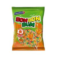Bon Bon Bum Mango Lollipop 24's