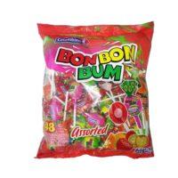 Bon Bon Bum Assorted Lollipop 48's