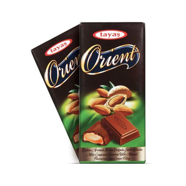Orient Chocolate Bar - Almond 80g