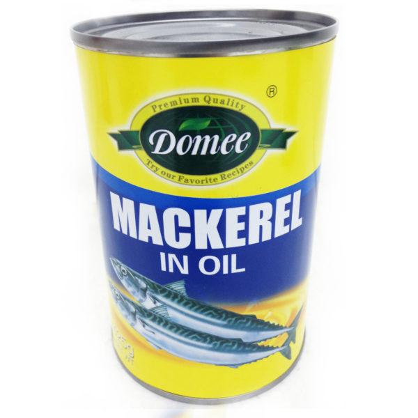 Domee Mackerel N/Oil 425g