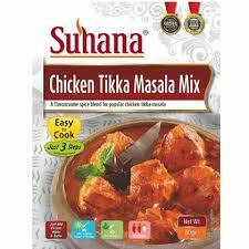 Suhana Chicken Tikka Masala Mix 80g