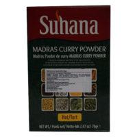 Suhana Madras Curry Powder (Hot) 70g