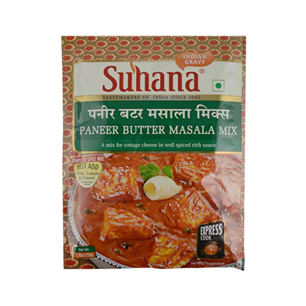 Suhana Paneer Butter Masala Mix 50g