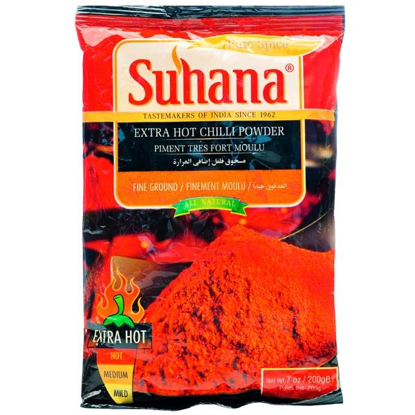 Suhana Extra Hot Chilli Powder 200g
