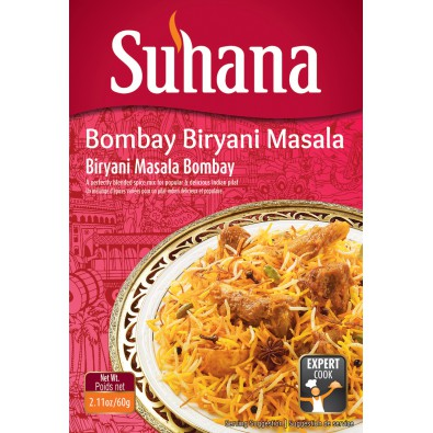 Suhana Bombay Biryani Masala 60g