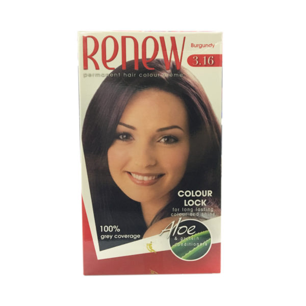 Renew Hair Colour - Burgundy 50ml