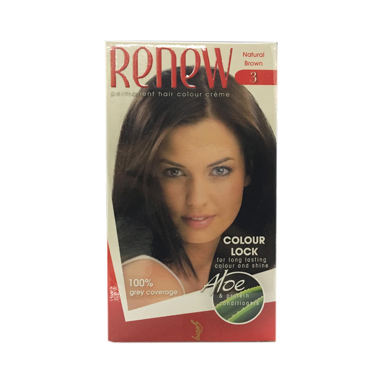Renew Hair Colour - Natural Brown 50ml