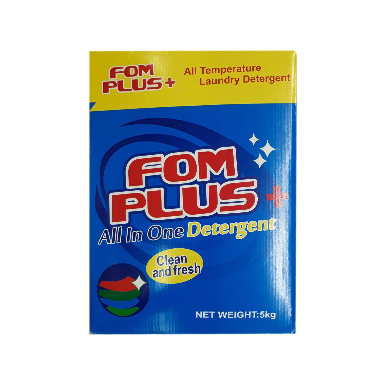 FOM Plus + Detergent Powder 5kg