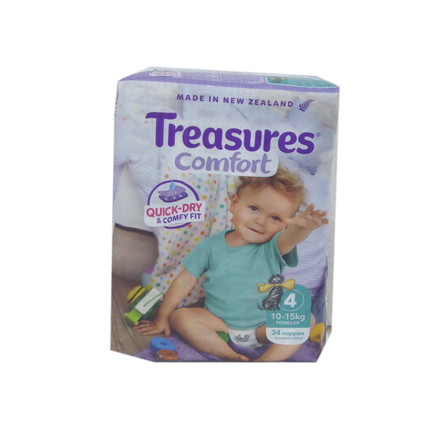 Treasures Baby Diapers - Large 34s